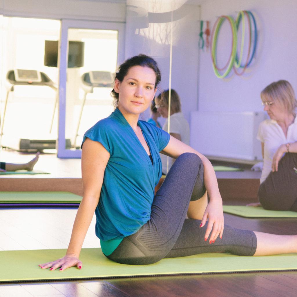 entschleunigen mit Yoga