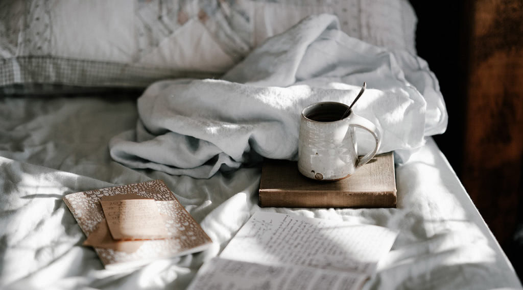 Schreibe deine Gedanken auf, um deinen Kopf zu leeren.