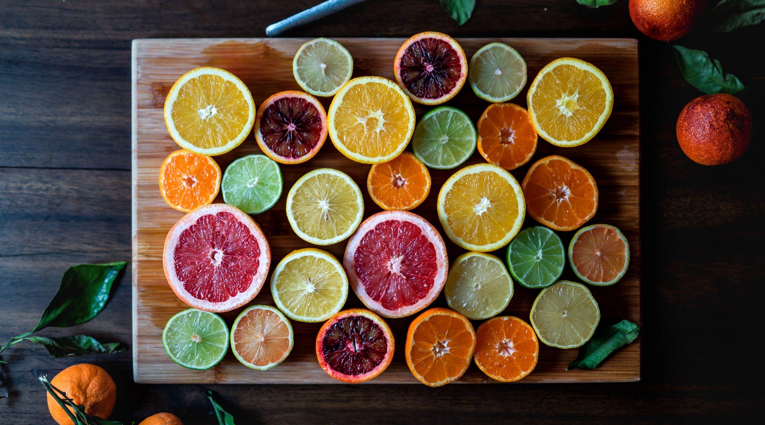 Orangen sind gesund.