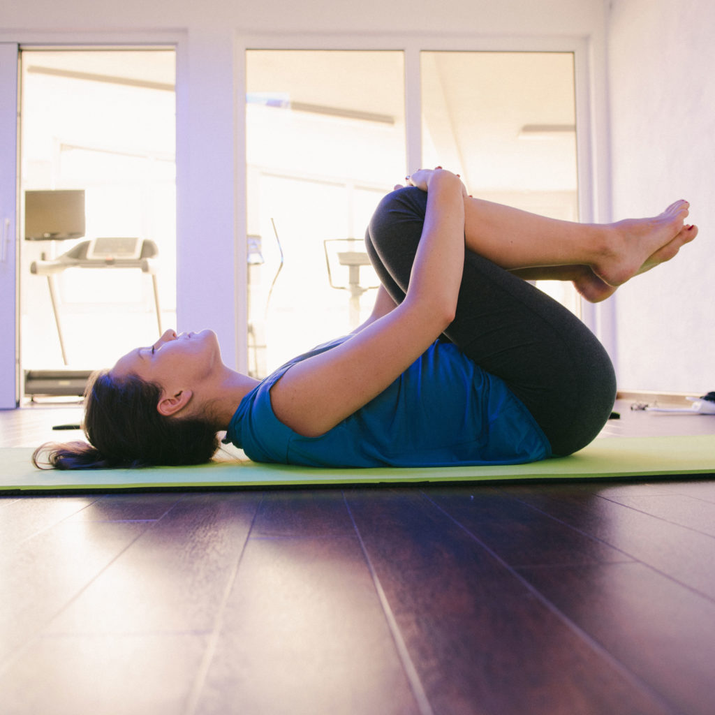 Angst loswerden mit Yoga.