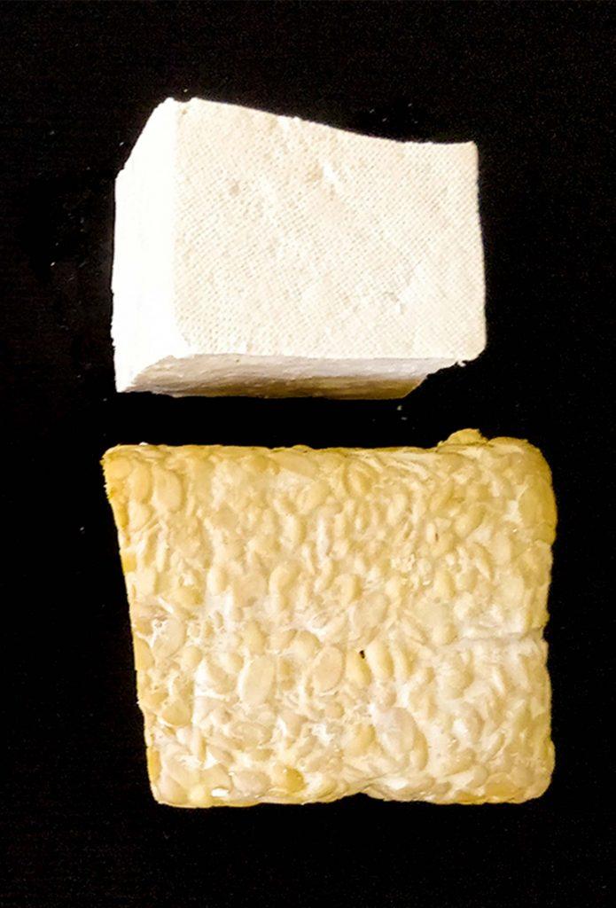 Tofu und Tempeh.