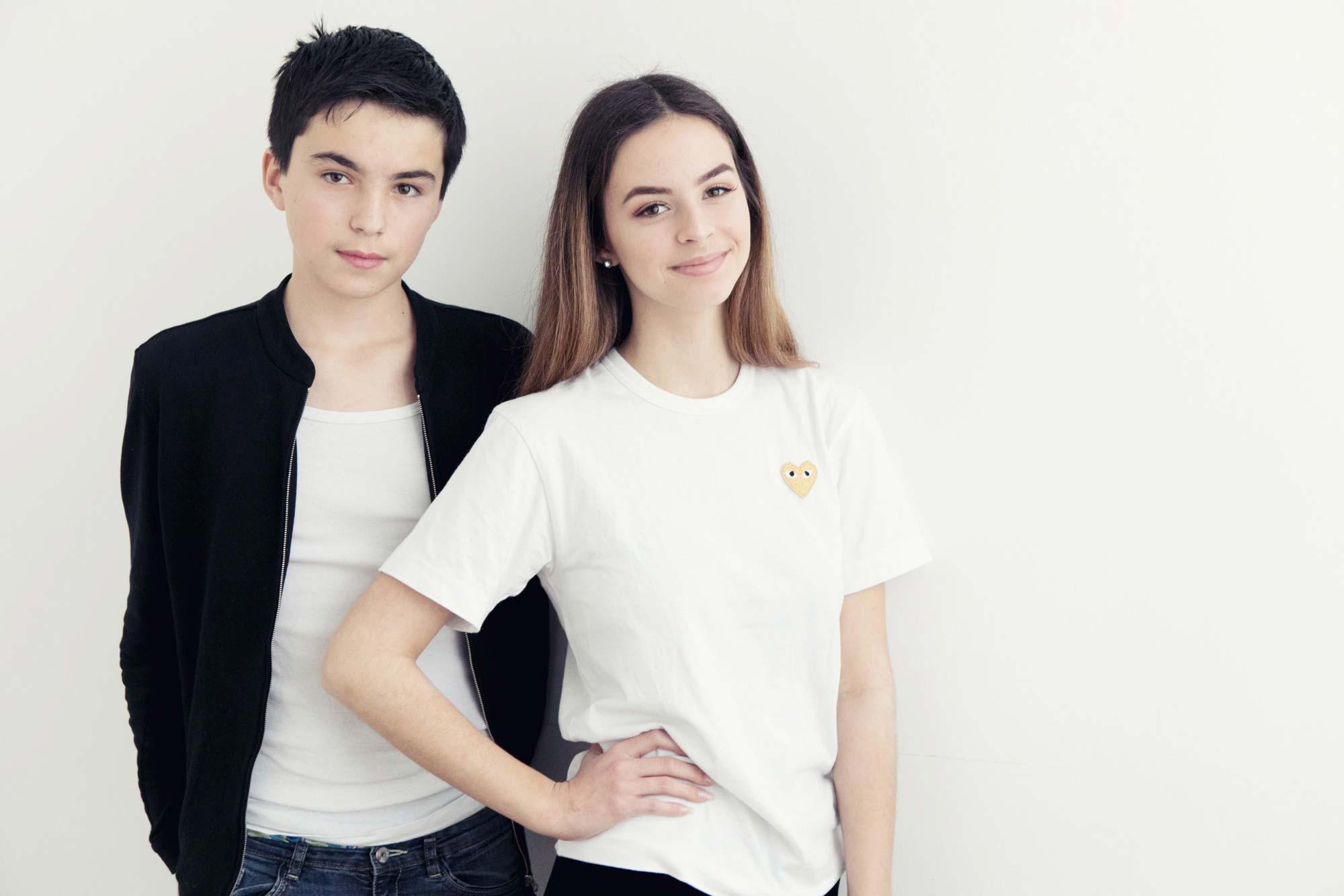Teenager fotogen.