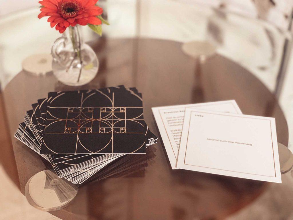 Seelenkonferenz Kartenset, Kartenspiel um die Fragen des Lebens zu klären.