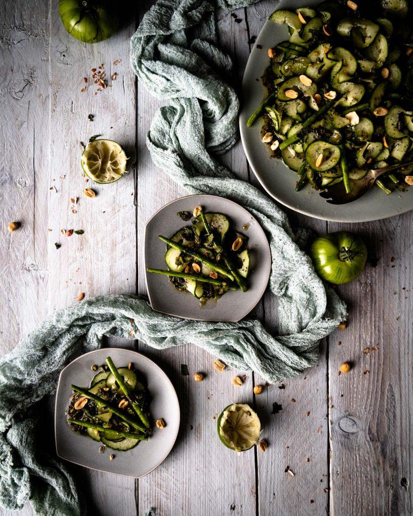 Gurken-Bohnensalat von Edward Daniels