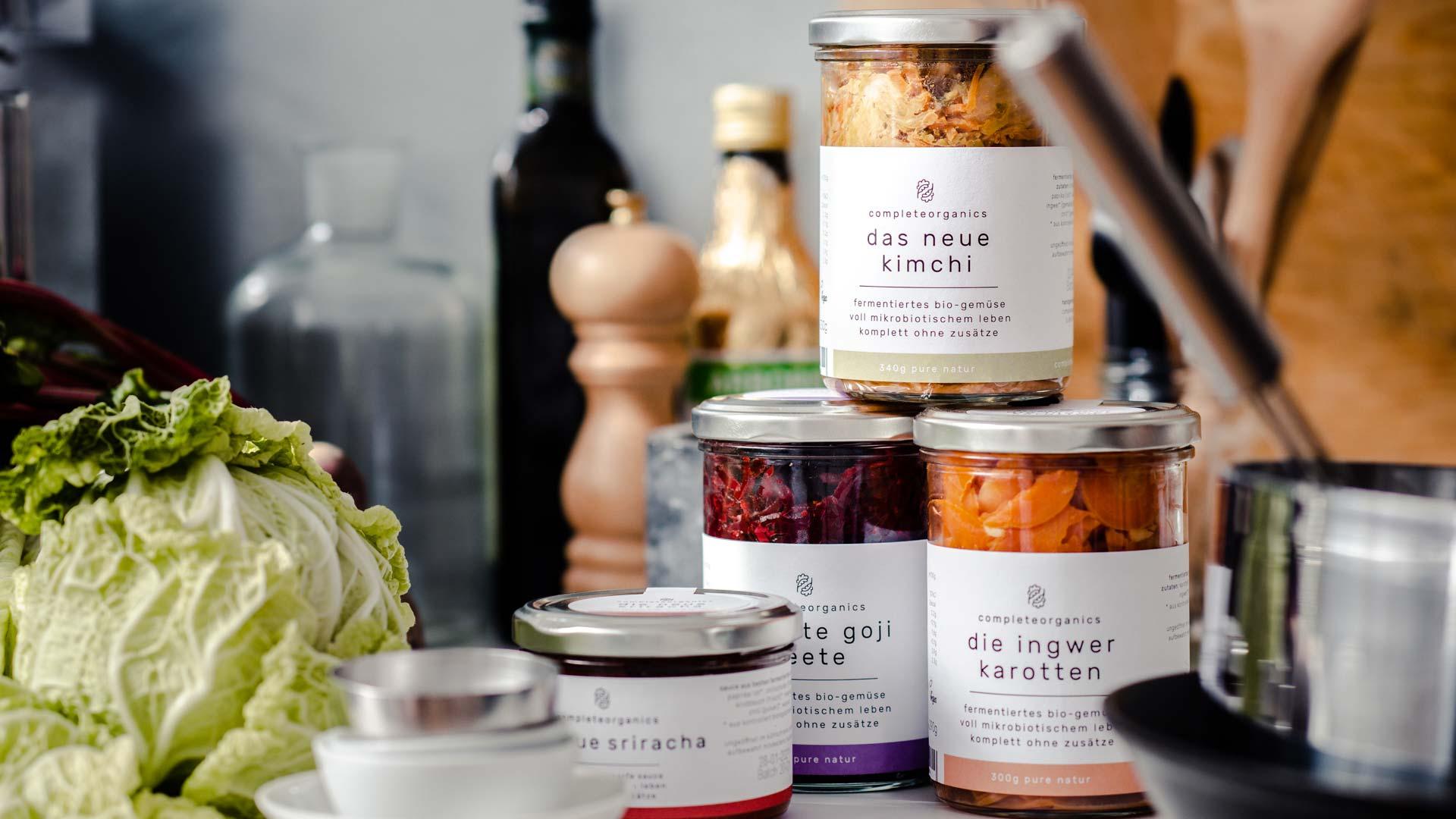 Complete organics Kimchi