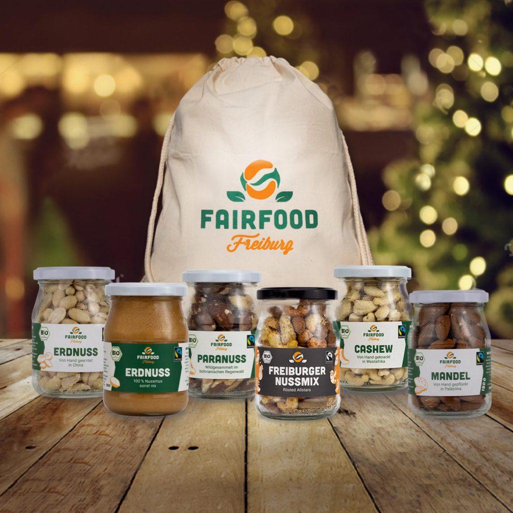Fairfood Nüsse und Früchte.