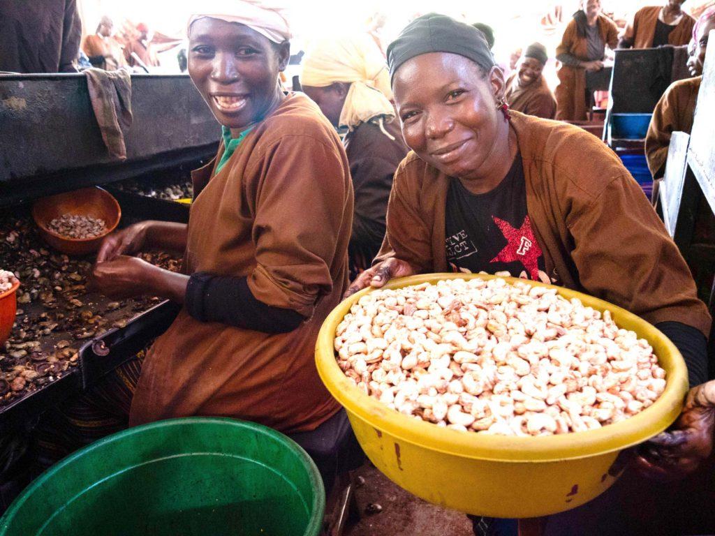 Fairfood Cashews. Faire Produktion, fairer Handel mit Afrika.