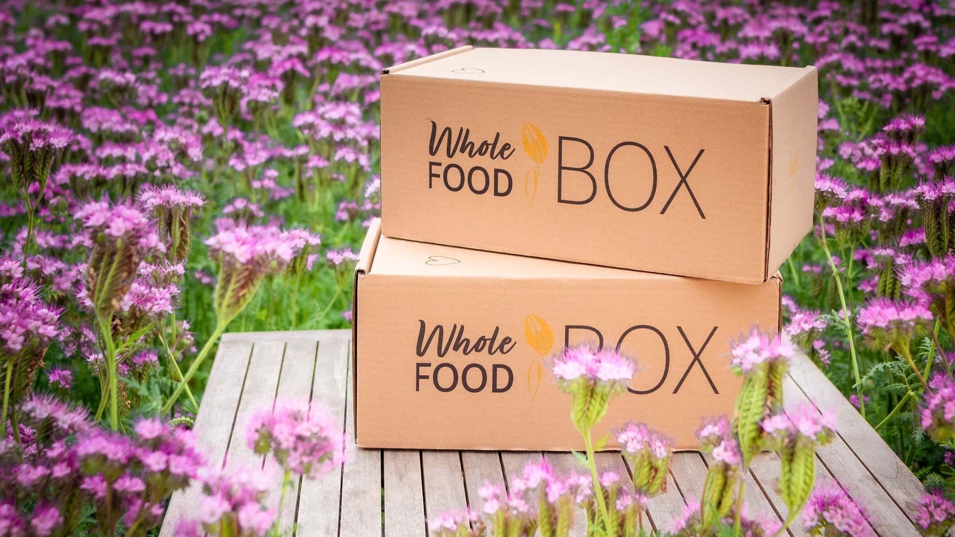 Wohlefoodbox Vollwertkost Lebensmittel