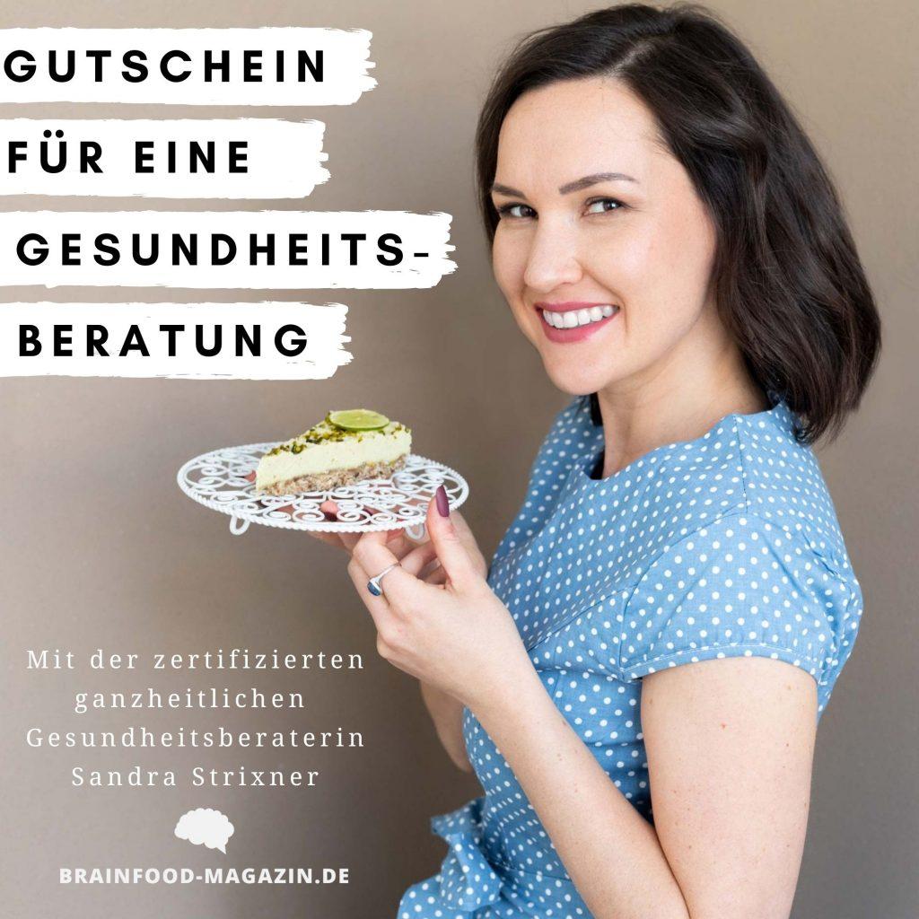 Sandra Strixner Gründerin des Brain Food Magazin und ganzheitliche Gesundheitsberaterin.