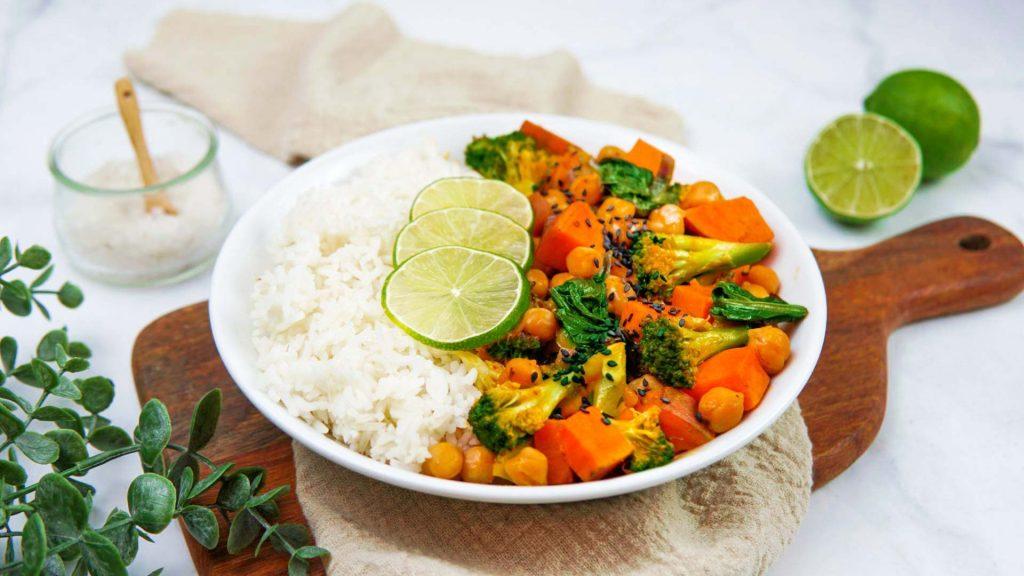 Gemüsecurry mit Kurkuma