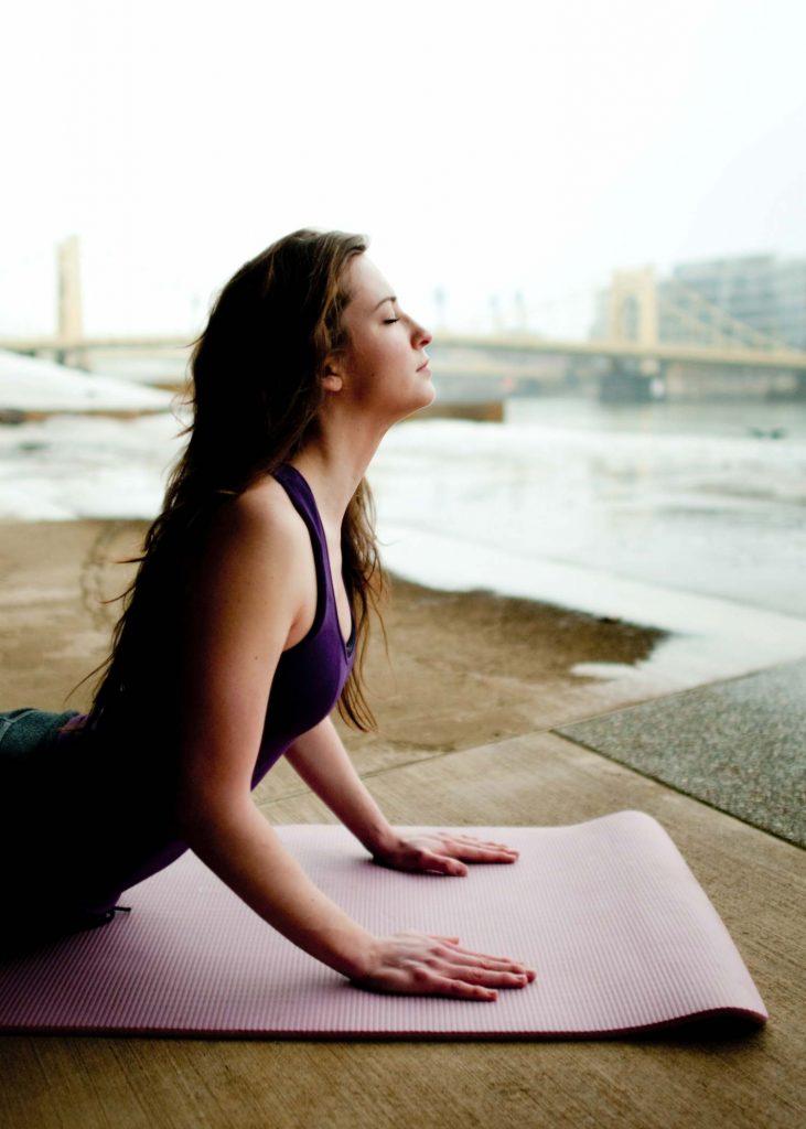 Yoga zur Steigerung des sexuellen Verlangens und Empfindens.