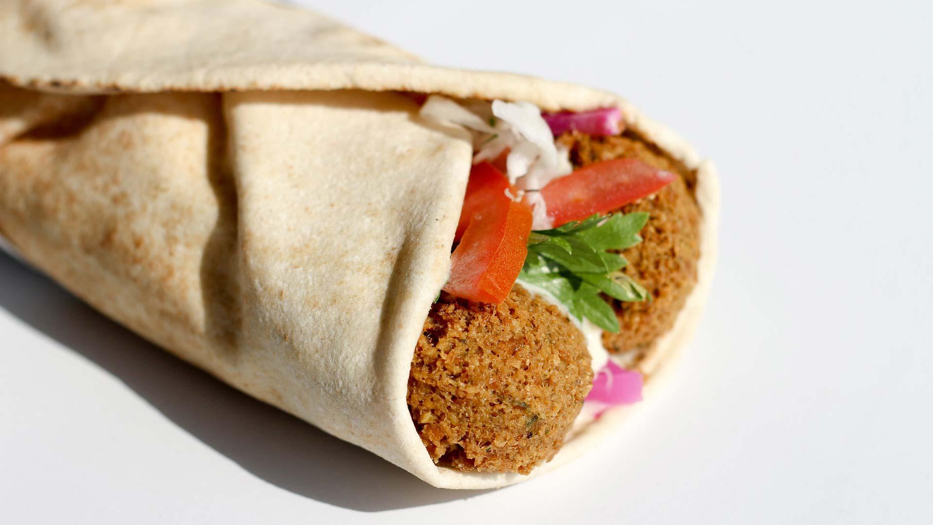 Falafel Wrap Rezept