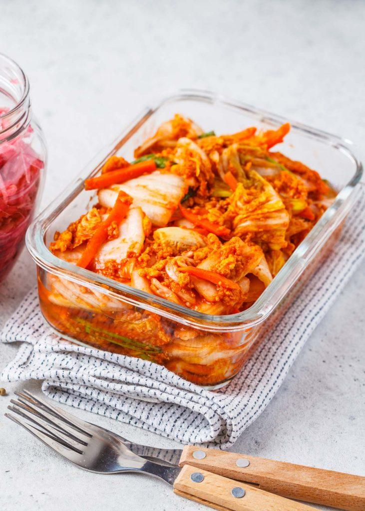 Kimchi selbst einlegen.