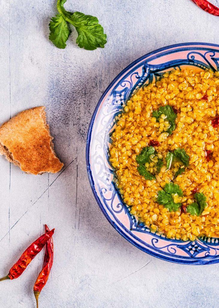 Linsen Dal veganes indisches Rezept