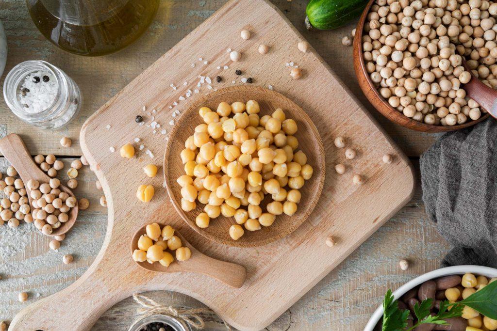 Smart Protein aus fermentierten Kichererbsen