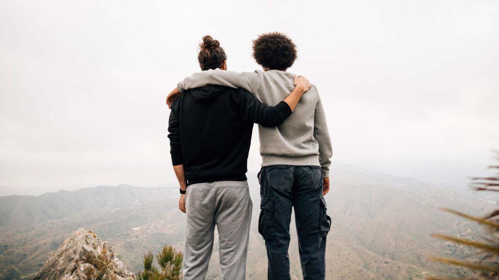 Manche Freundschaften halten fürs Leben.