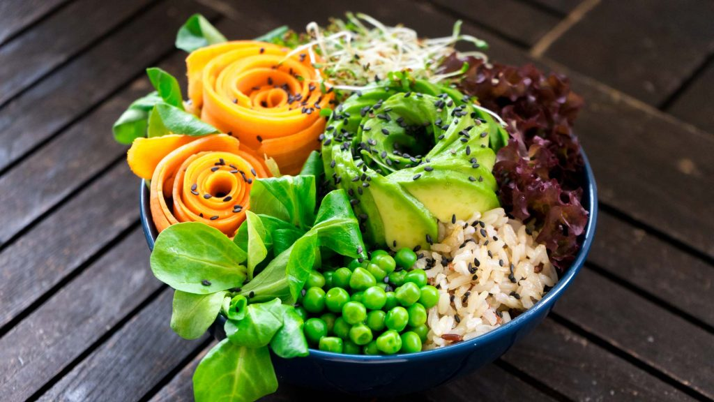 Buddha Bowls für die Mittagspause