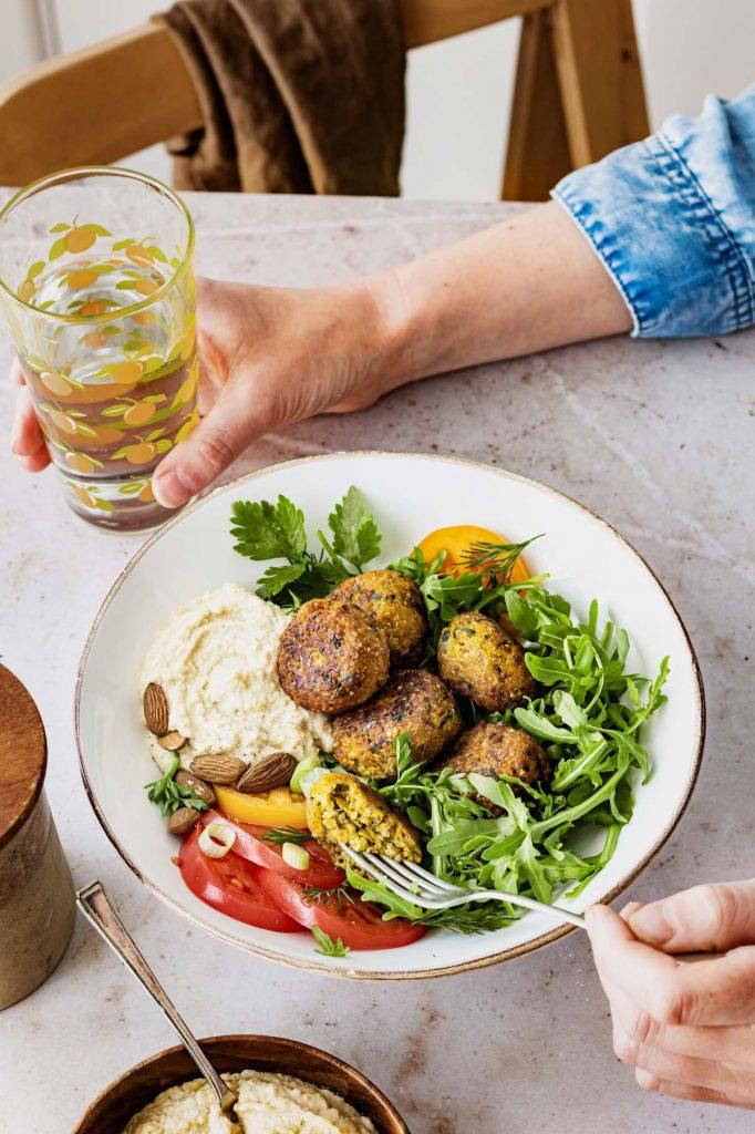 Falafel für die gesunde Mittagspause