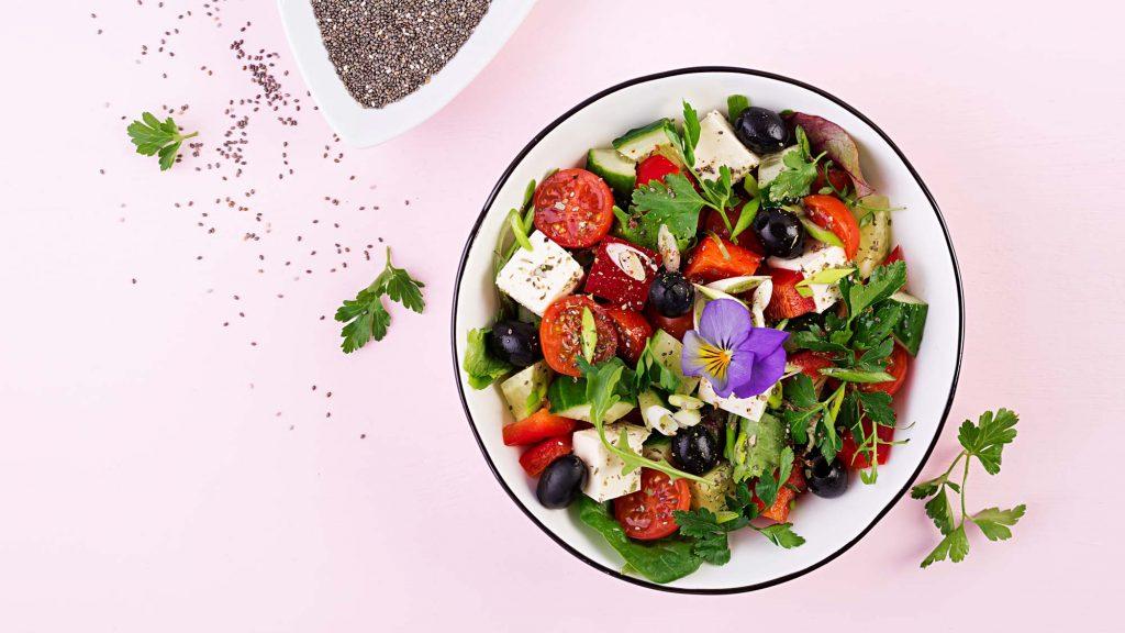 Griechischer Salat für zwischendurch